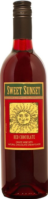 Sweet Sunset Red Chocolate ABV: 12%  750ml