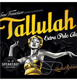 Speakeasy Tallulah Extra Pale Ale ABV: 5.6%  6 Pack