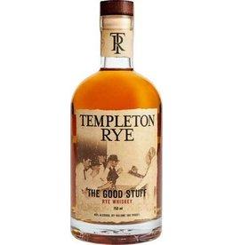 Templeton Rye Whiskey 6 Years Proof: 80 750 ML