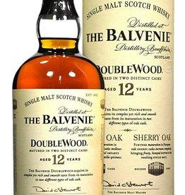 Balvenie 12 Year Old Doublewood Single Malt Scotch Whisky ABV: 86%