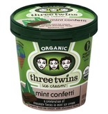 Three Twins Organic Mint Confetti Ice Cream 1 pt