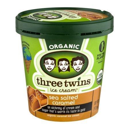 Three Twins Organic Sea Salted Caramel Ice Cream 1 pt