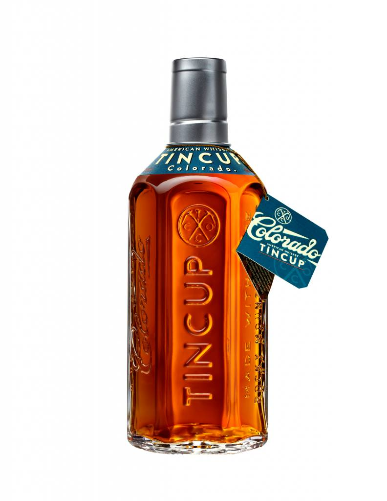 Tin Cup Colorado American Whiskey ABV: 84  750ml