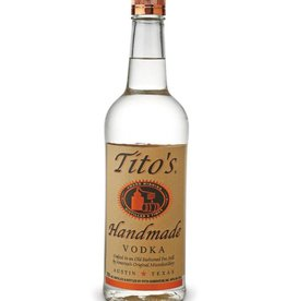 Tito's Vodka Proof: 80  750 mL