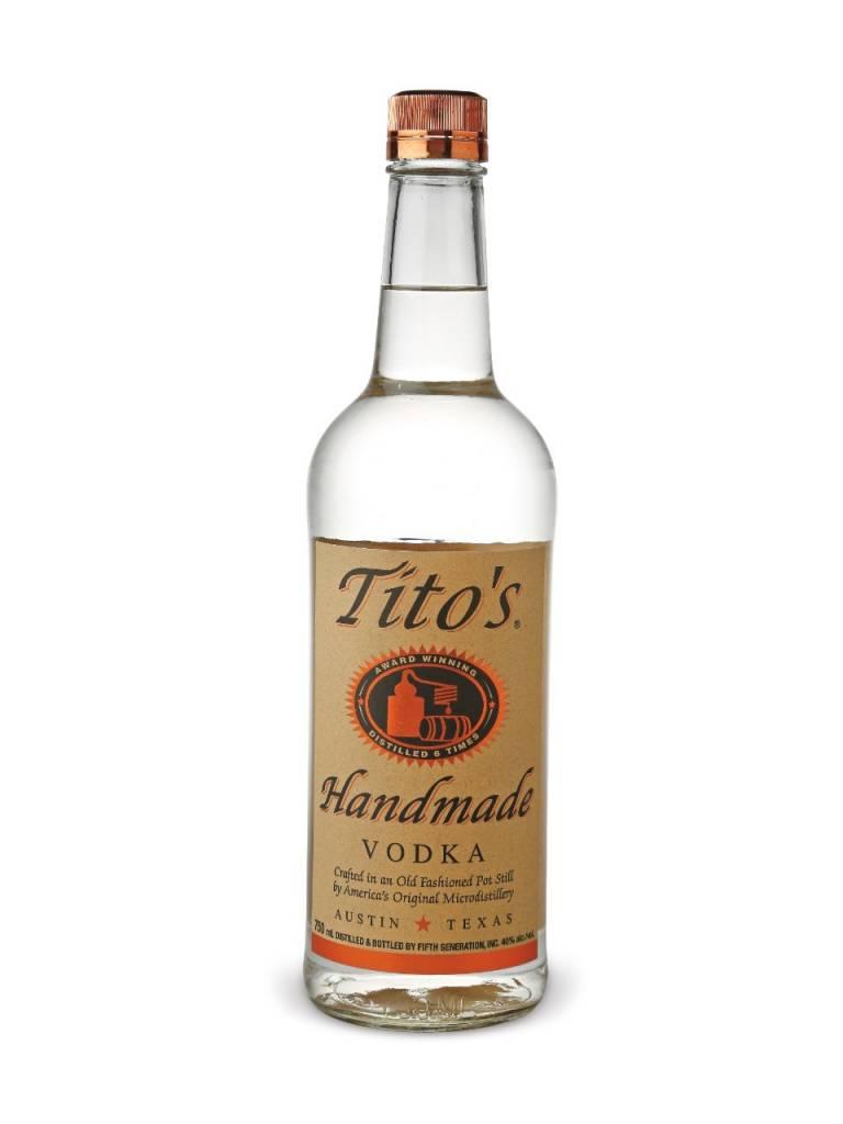 Tito's Vodka Proof: 80  750 mL