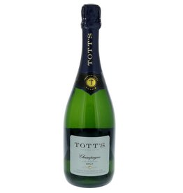 Totts Brut Champagne ABV: 10%  750 mL