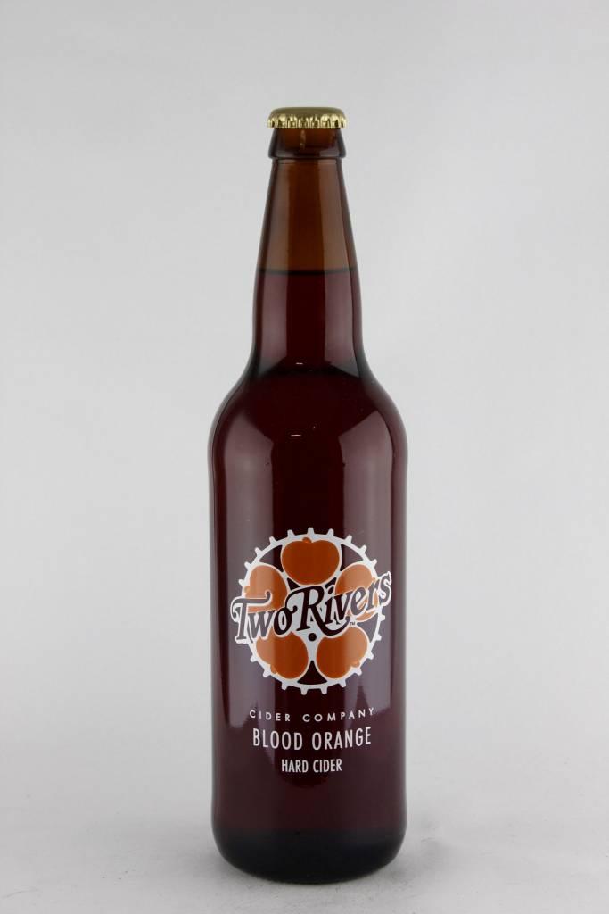 Two Rivers Blood Orange Hard Cider ABV: 7.5%