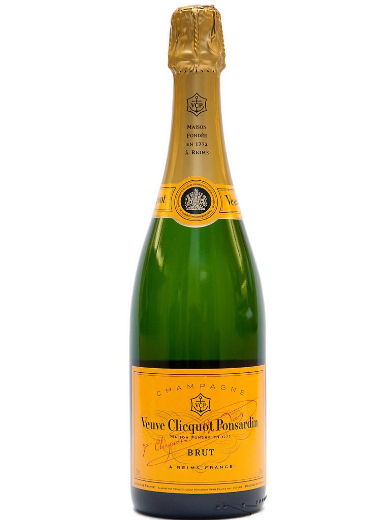 Veuve Clicquot Brut Sparkling Wine ABV: 12%  750 mL
