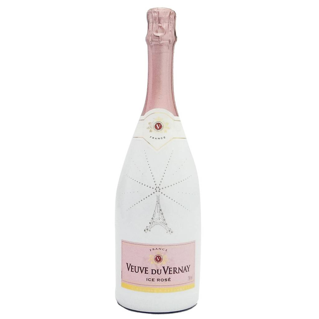 Veuve du Vernay Ice Rose Sparkling Wine ABV: 11%  750 mL