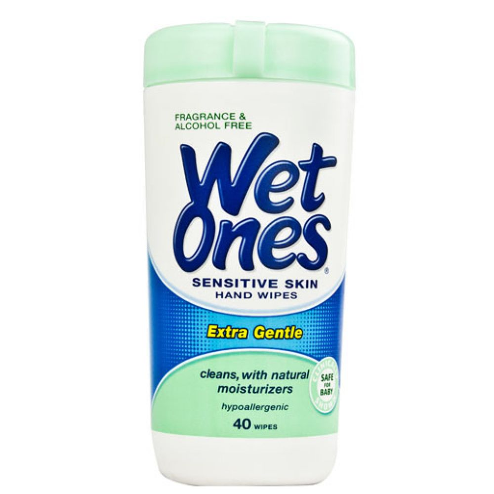 Wet Ones Sensitive Wipes