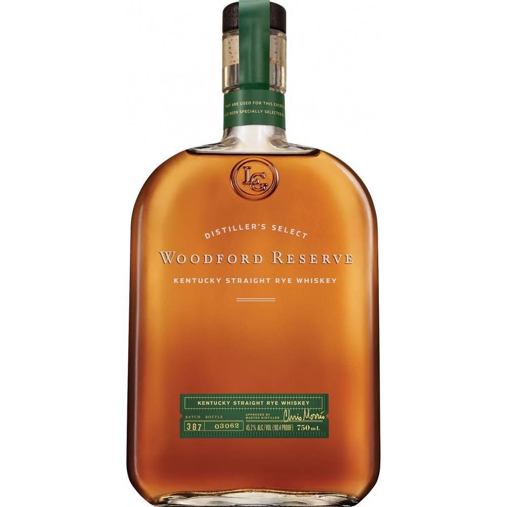 Woodford Reserve Kentucky Straight Rye Whiskey Proof: 90.4  750 mL