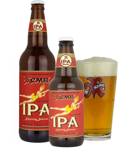 North Coast Brewery ACME California IPA ABV: 6.9%