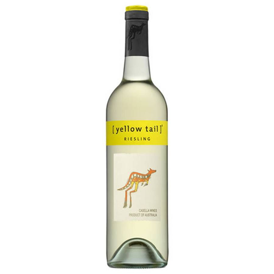 Yellow Tail Riesling  2016 ABV: 12.5%  750ml