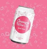 Canpagne Wine Co. Sparkling Rose Wine ABV 11%  375 ML Can