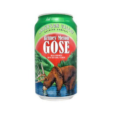 Anderson Valley Briney Melon Gose ABV 4.2% 6 Pack