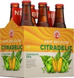 New Belgium Citradelic Tangerine IPA ABV 6% 6 Pack