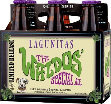 Lagunitas The Waldos' Special Ale ABV 11.7% 4 Pack