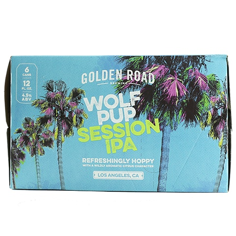 Golden Road Wolf Pup Session IPA ABV 4.5% 6 Pack