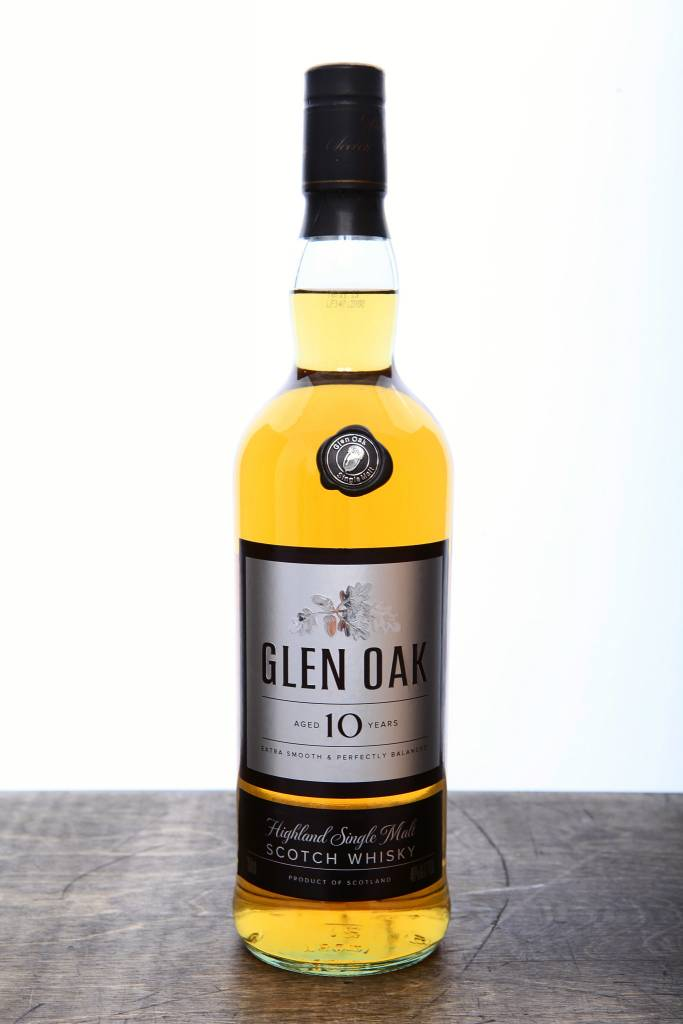 Glen Oak  10 Year Scotch ABV 40% 750mL