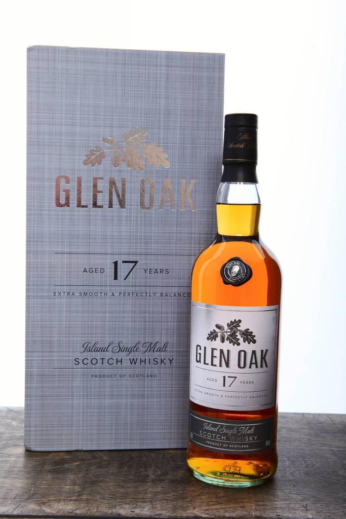 Glen Oak 17 Year Scotch ABV 40% 750mL