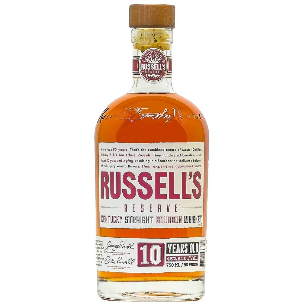 Russell's Reserve Bourbon Whiskey ABV 45% 750 ML