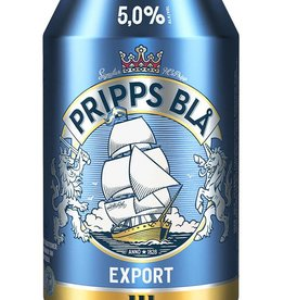 Pripps Bla Swedish Lager ABV: 5% 6 Pack Cans