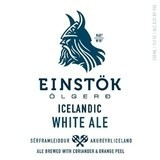 Einstok Icelandic White Ale ABV 5.2% 6 Pack