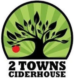 2 Towns Cider House Bright Cider ABV 6% 500 ML