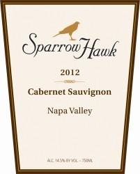 Sparrow Hawk Cabernet Sauvignon ABV: 14.5%  750ml