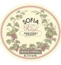 Francis Ford Coppola Sofia Rose 2016 ABV: 12.5%  750ml