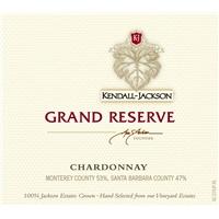 Kendall-Jackson Grand Reserve Chardonnay 2015  ABV 14.5% 750 ML