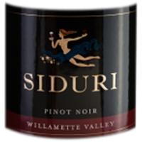 Siduri Willamette Valley Pinot Noir 2015 ABV 14.3% 750 ML
