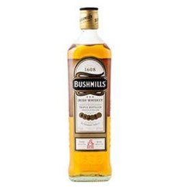Bushmills Irish Whisky ABV 40%  375ml