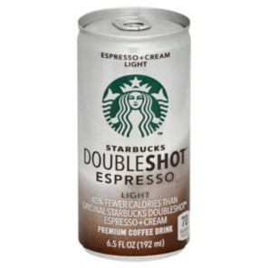 Starbucks Double Shot Espresso & Cream Light 6.5 oz
