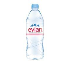 Evian Natural Spring Water 1 L