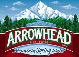 Arrowhead Sparkling Lemon Water 1L