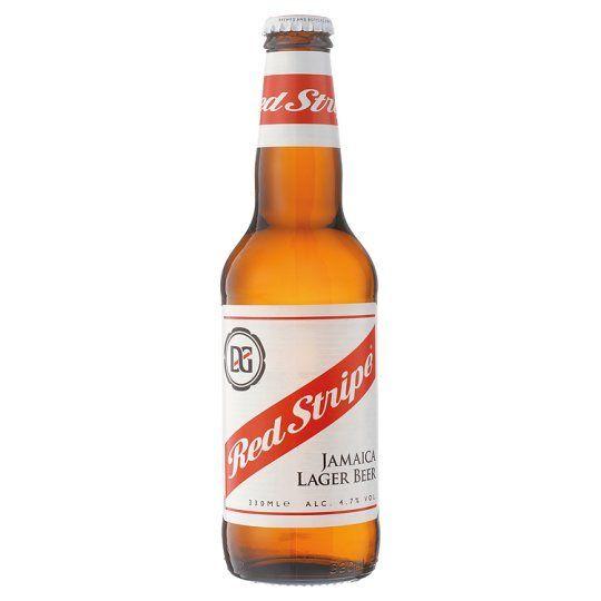 Red Stripe Jamaican Lager Beer ABV 4.7% 6 Pack