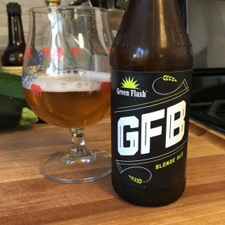 Green Flash Blonde Ale ABV: 4.8 % 6 pack