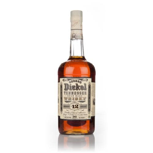 George Dickel Tennessee Sour Mash Whisky No.12 ABV 45% 750 ML