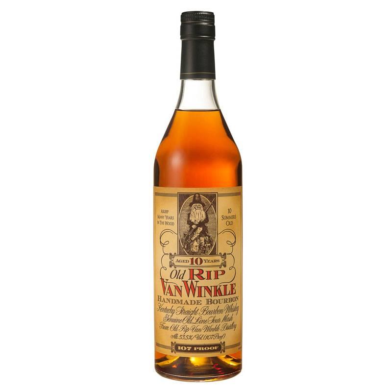 Old Rip Van Winkle 10 Year Bourbon ABV: 53.5% 750ML
