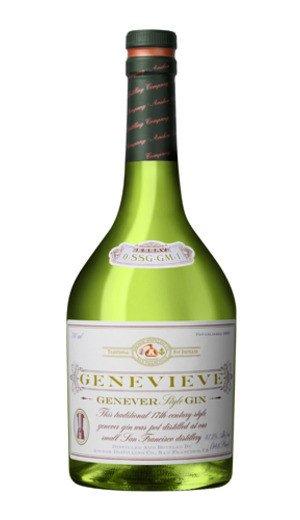 Genevieve Genever Gin ABV 47.3% 750 ML