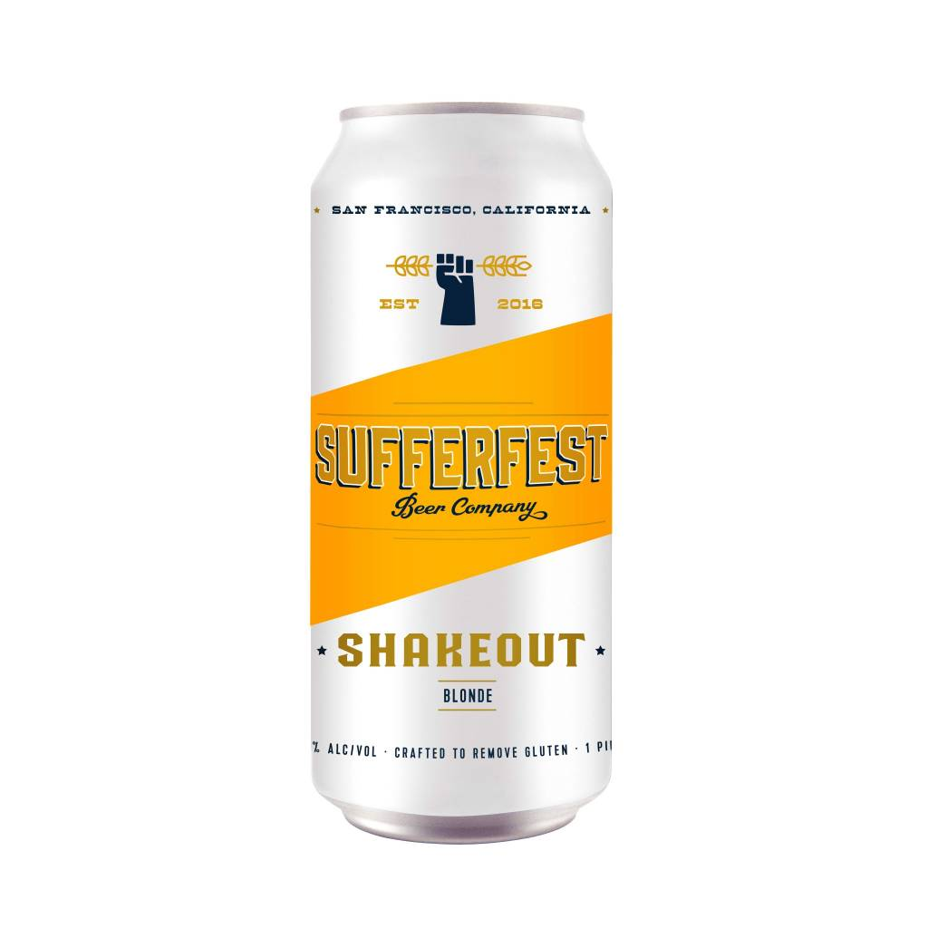 Sufferfest Beer Company Summit Blonde ABV 5.7% 4 Pack 16 OZ Can