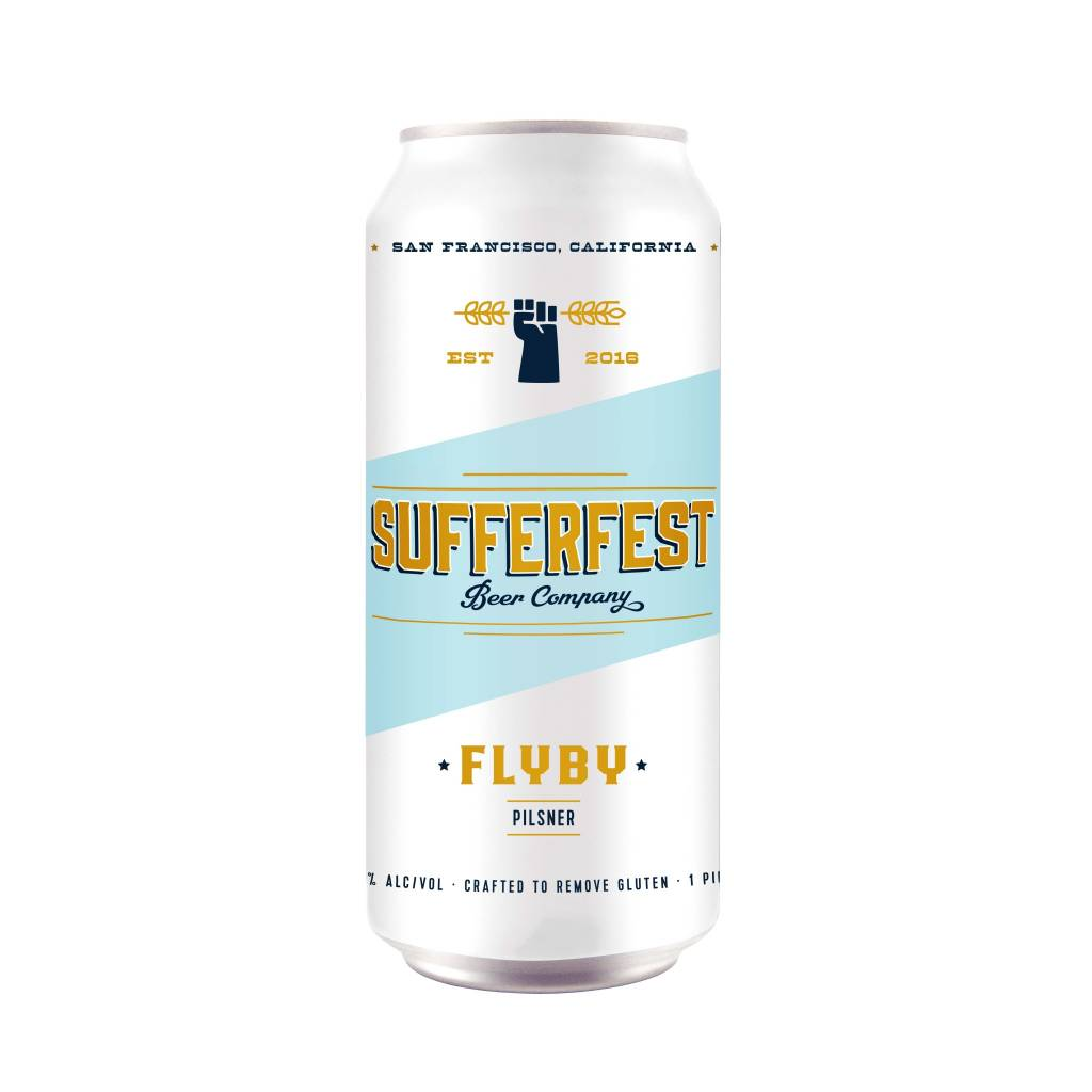 Sufferfest Beer Company Epic Pilsner ABV 5.1% 4 Pack 16 OZ Can