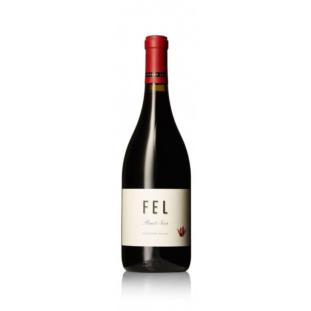 Fel Wine Anderson Valley Pinot Noir 2015 ABV 14.3 %  750 Ml