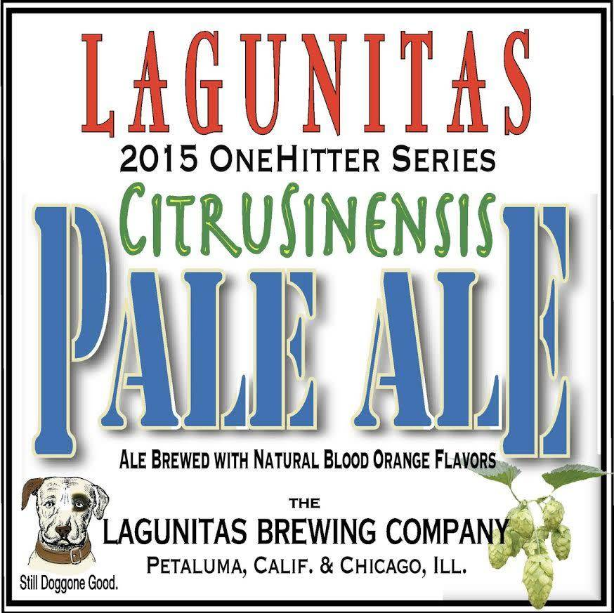 Lagunitas Citrusinensis Pale Ale ABV 7.5% 6 packs