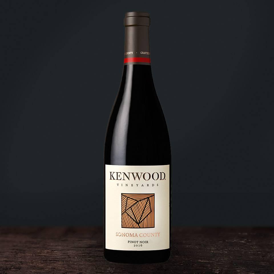 Kenwood Sonoma Pinot Noir 2016 ABV 13.5% 750 ML
