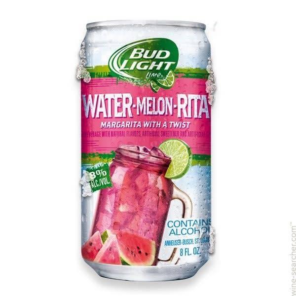 Bud Light Lime Water-Melon-Rita ABV 8% 25 OZ
