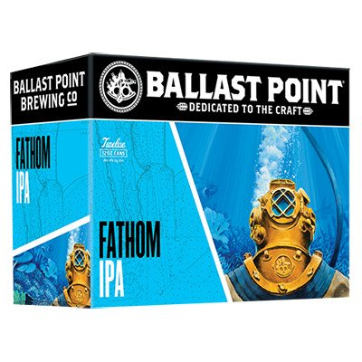 Ballast Point Fathom IPA ABV 6% 6 Pack Can
