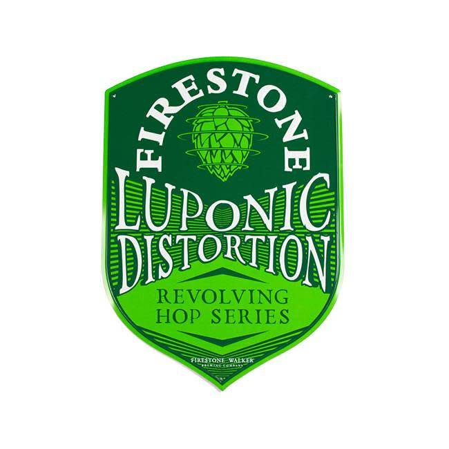 Firestone Luponic Distortion ABV 5.9 % 6 pack Bottle