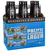 Deschutes Pacific Wonderland Lager ABV 5.5% 6 Packs Can